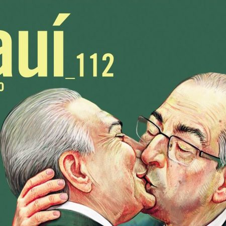 Capa da Revista Piauí - Janeiro de 2016